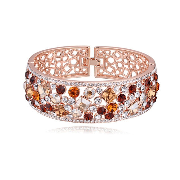 Picture of Austrian Crystal Bracelet - Deep Tender