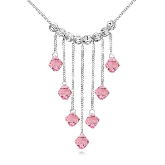 Immagine di Austrian Crystal Necklace - Stones Fall