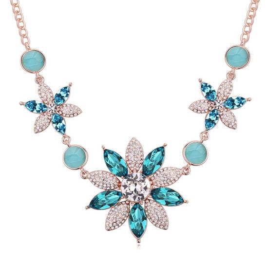 Imagen de Austrian Crystal Necklace - Stone Flower