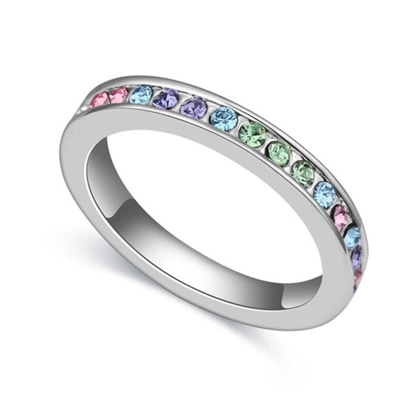 Bild von Austrian Crystal Ring - Irreplaceable