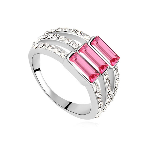 Picture of Austrian Crystal Ring - Elegant