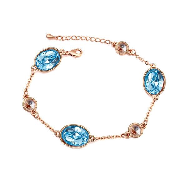 Imagen de Austrian Crystal Bracelet - Big Stone