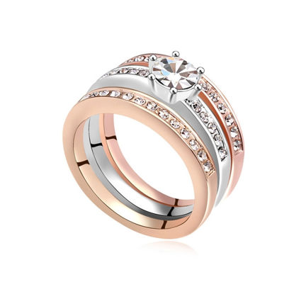 Image de Austrian Crystal Ring - Happiness Guardian
