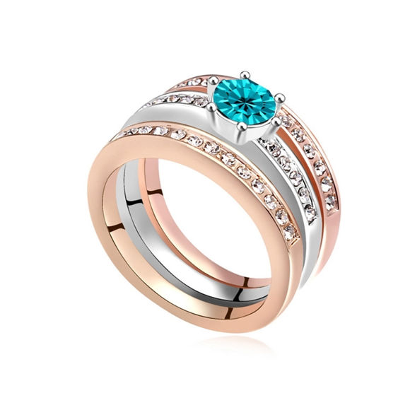 Picture of Austrian Crystal Ring - Happiness Guardian