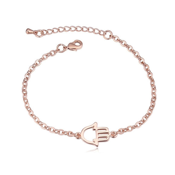 Picture of Gold Plated Bracelet - Palm
