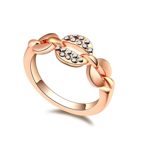 Picture of Austrian Crystal Ring - Lintimate Embrace