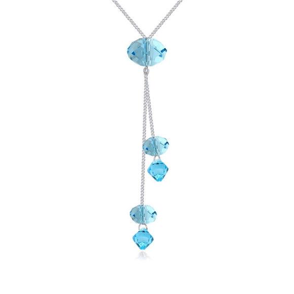 Immagine di Austrian Crystal Necklace - Stone Rain
