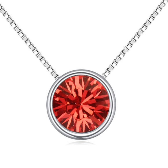 Picture of Austrian Crystal Necklace - Eye Of Love