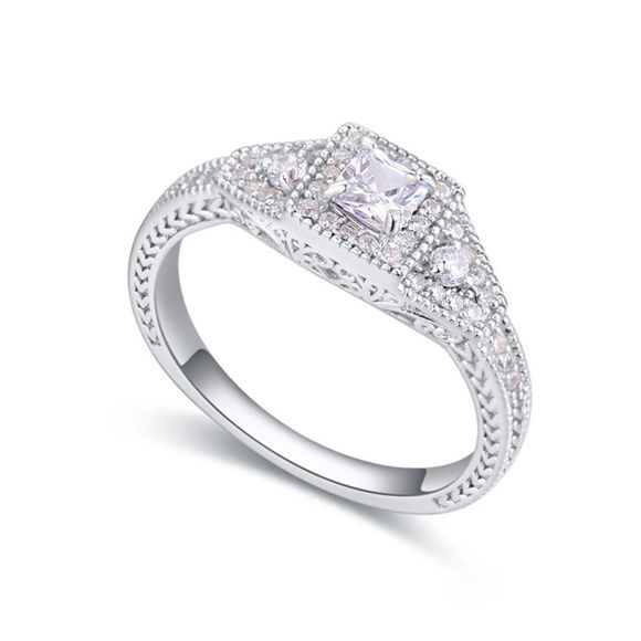 Picture of S925 Silver Ring - Never Leave
