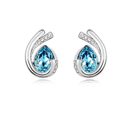 Immagine di Austrian Crystal Earrings - Love Forever