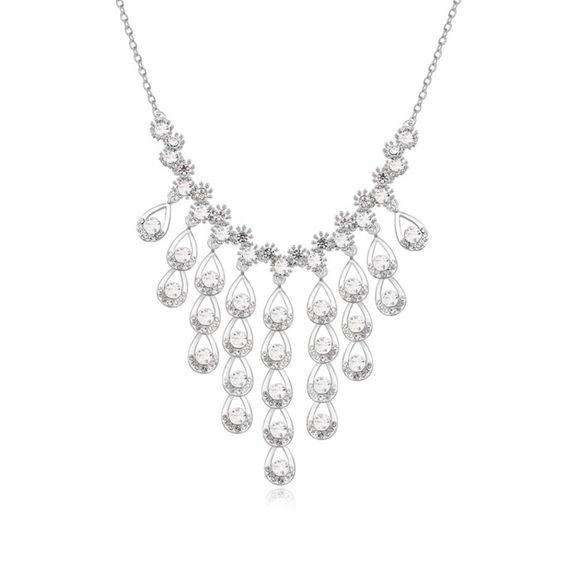 Imagen de Austrian Crystal Necklace - Luxurious Stones
