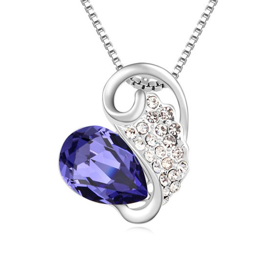 Imagen de Austrian Crystal Necklace - Your World