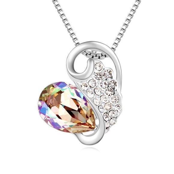 Image de Austrian Crystal Necklace - Your World