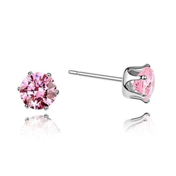 Imagen de Austrian Zircon Earrings - Star Charm