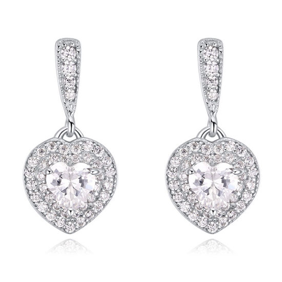 Imagen de S925 Sterling Silver Earrings - Love Sugar