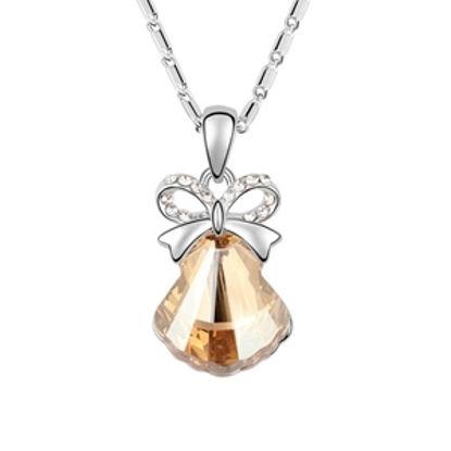 Immagine di Austrian Crystal Necklace - Shell Stone