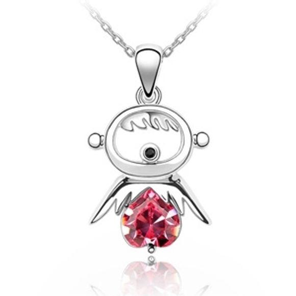Imagen de Austrian Crystal Necklace - Lucky Doll