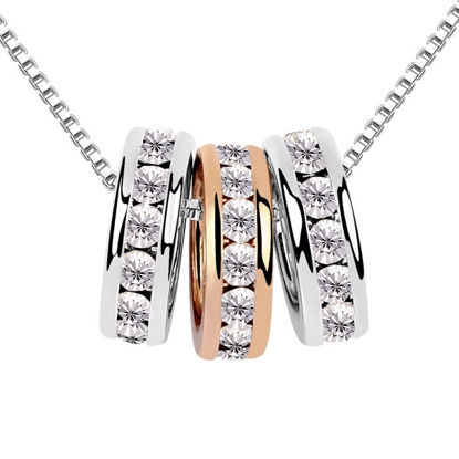 Immagine di Austrian Crystal Necklace - Family