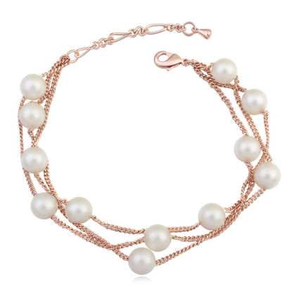 Picture of Song of Gold Pearl Bracelet
