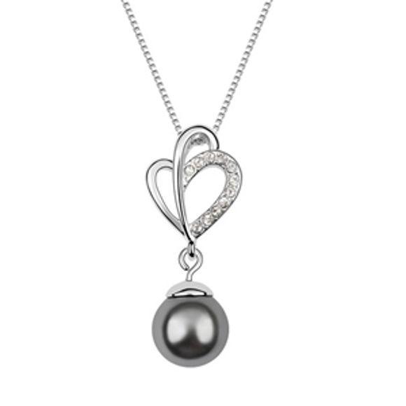 Picture of Love Magic Swarovski Elements Pearl Necklace