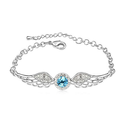 Picture of Angel Wings Crystal Inlaid Bracelet