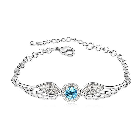 Imagen de Angel Wings Crystal Inlaid Bracelet