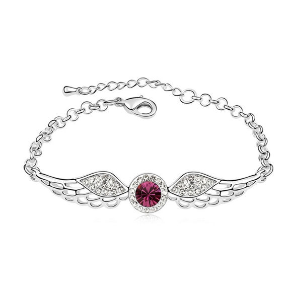 Immagine di Angel Wings Crystal Inlaid Bracelet