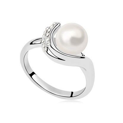Imagen de Dream Guard Pearl Mosaic Ring