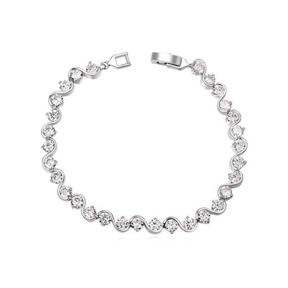 Picture of Love Domino Zircon Inlaid Bracelet