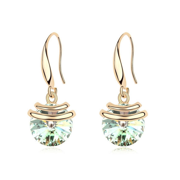 Imagen de Magic Bean Swarovski Elements Crystal Earrings