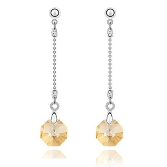 Imagen de Star Shine Swarovski Elements Crystal Earrings