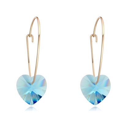 Immagine di Sweet Heart Crystal Earrings