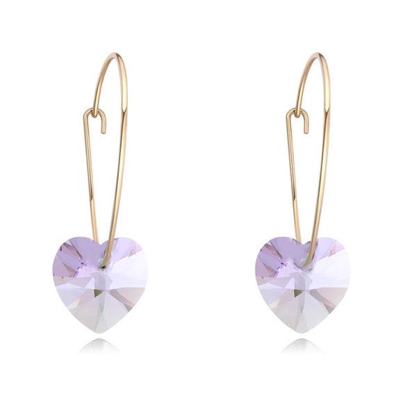 Image de Sweet Heart Crystal Earrings