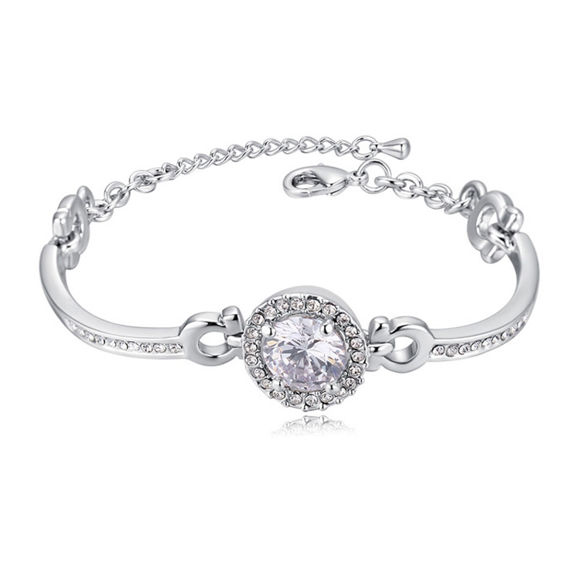 Picture of Entangled Crystal Inlaid Bracelet