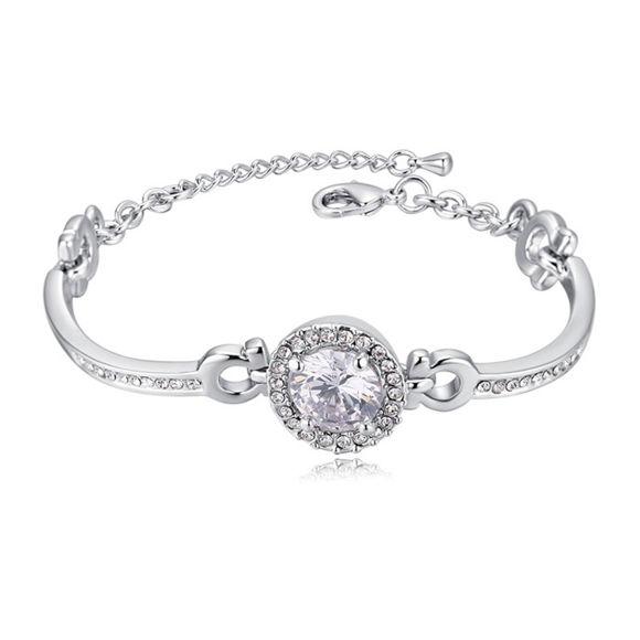 Imagen de Entangled Crystal Inlaid Bracelet