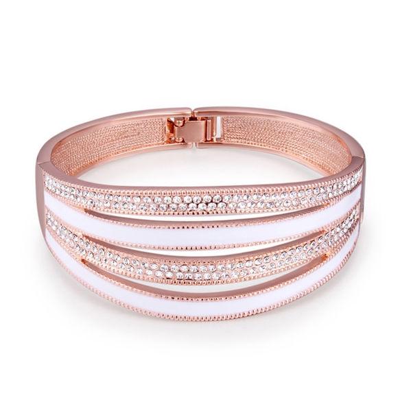 Imagen de Letterhead Crystal Inlaid Bracelet