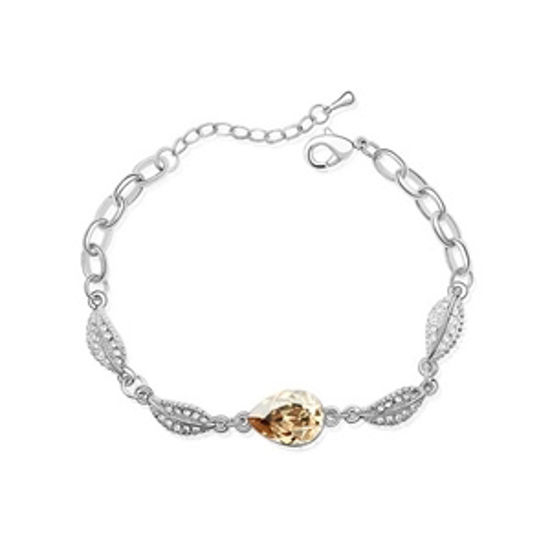 Imagen de Acacia Leaves Crystal Bracelet