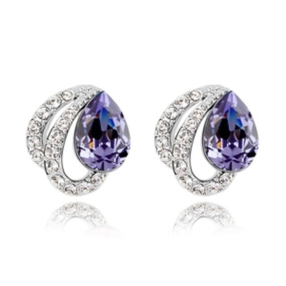 Picture of Angel's Tears Swarovski Elemental Crystal Earrings