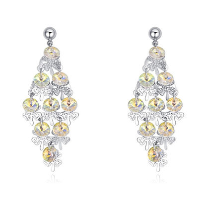 Immagine di Graceful Butterfly Swarovski Elemental Crystal Earrings