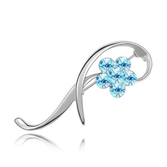 Immagine di Swarovski Elements Crystal Brooch