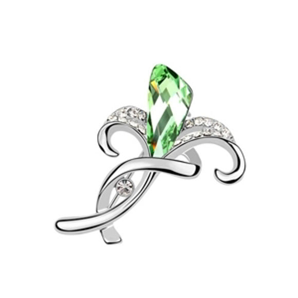 Immagine di Hyacinth Swarovski Elements Crystal Brooch