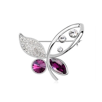 Image de Beauty Butterfly Swarovski Elements Crystal Brooch
