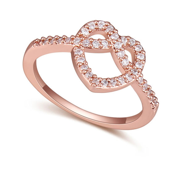 Imagen de Morning Love Micro-inlaid Zircon Ring
