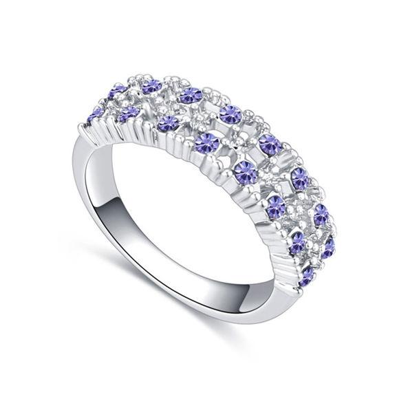 Image de Bit by Bit Crystal Mosaic Ring