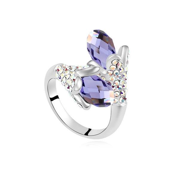 Bild von Singing Crystal Mosaic Ring