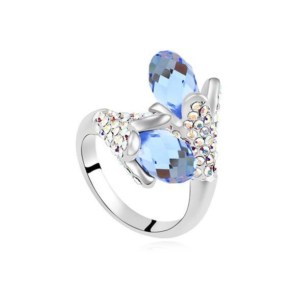 Image de Singing Crystal Mosaic Ring