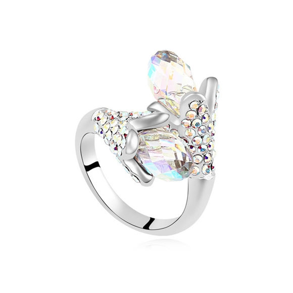 Picture of Singing Crystal Mosaic Ring