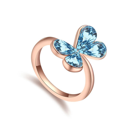 Imagen de Dream Butterfly  Crystal Mosaic Ring