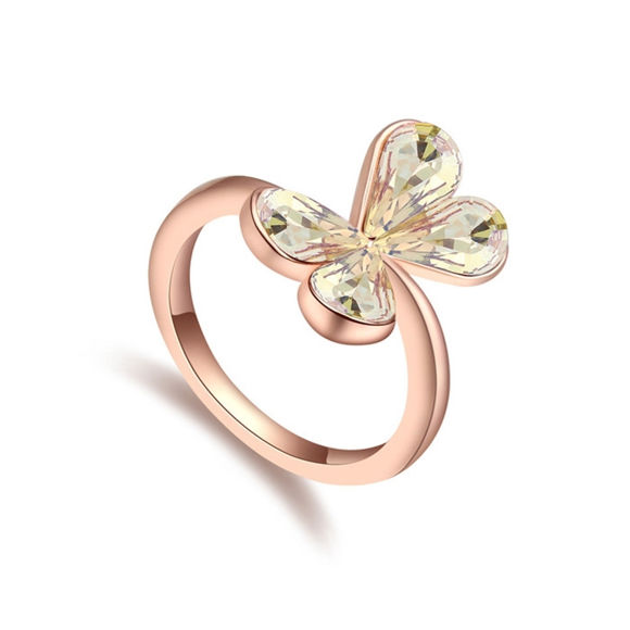 Immagine di Dream Butterfly  Crystal Mosaic Ring