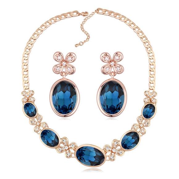 Imagen de Fate Swarovski Elements Crystal Package(Earrings & Necklace)